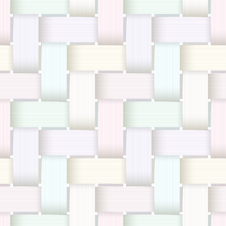 Plastic basketwork pattern.