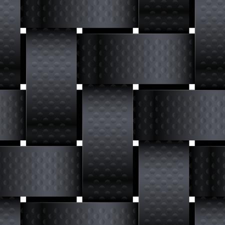 Black Basketwork.