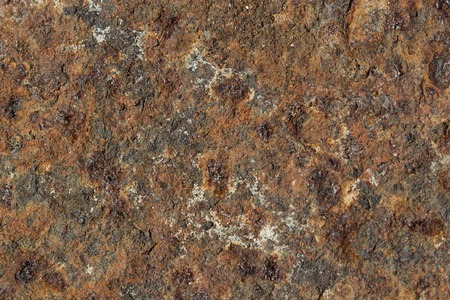 rust covered: Metal surface covered with rust. Authentic grunge texture. Close-up image