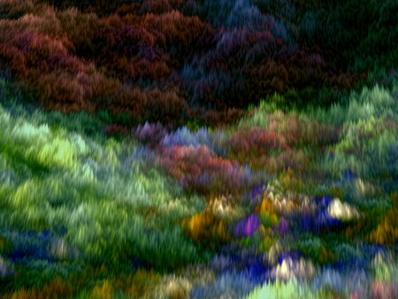 Abstract colored chaos background like the futuristic cloud - computer-generated image. Fractal artwork chaos strokes to creation unusual sky.