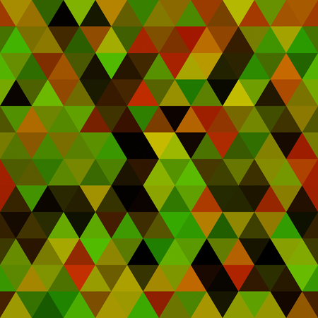 ordered: Abstract geometric pattern - computer-generated image. Pattern of ordered triangles in the colors of the classic camouflage. For prints, backgrounds, covers.