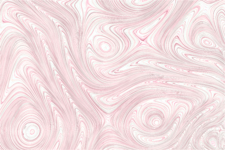 Unusual marble texture - computer-generated image. Fractal geometry: curls and gnarled circles. Digital marbling. For covers, banners, posters.