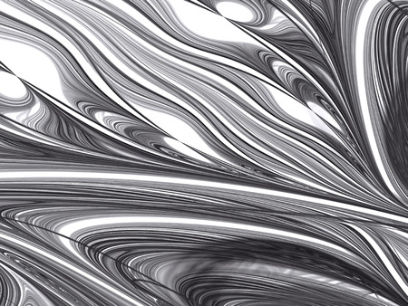 texturing: Fractal marble texture - abstract computer-generated image. Digital marbling: chaos lines and curves like stone surface. For texturing, covers, banners.