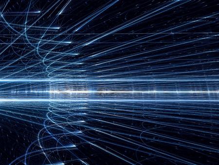 wares: Glowing wares - abstract digitally generated image