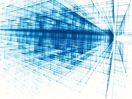 Tecnología abstracta o fondo de ciencia ficción - i generado digitalmente
