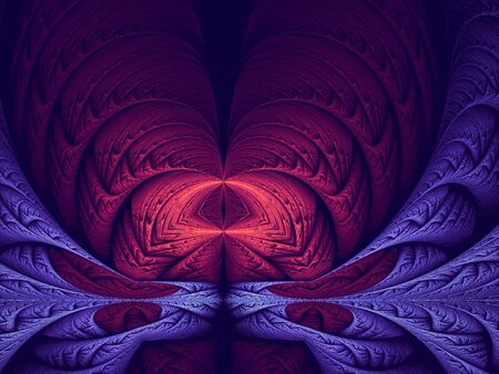 Abstract mystical or esoteric background - digitally generated image 版權商用圖片