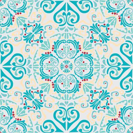 Mediterranean seamless wallpaper print