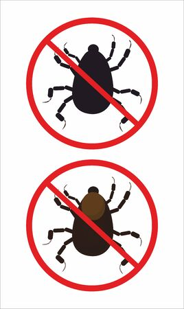 nymph: mite, tick, nymph danger sign
