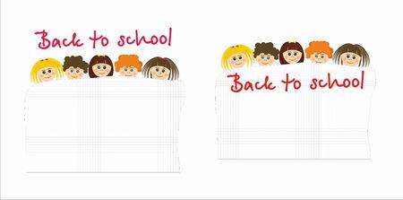 recess: Children - Back to school