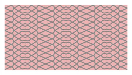 Pink decorative grpaphic line pattern and background