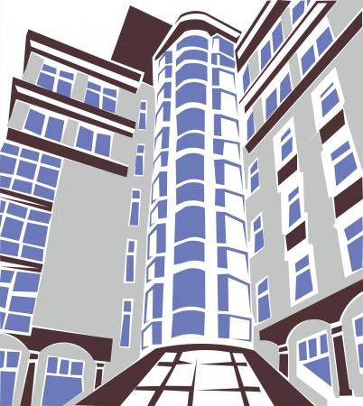 prospect: vecteur partie buildingconstruction perspective