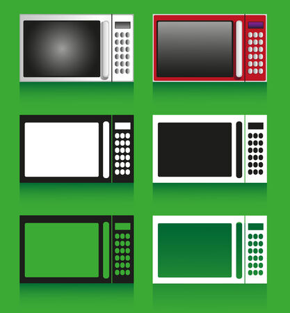 household appliances: Image of household appliances with different design: microwave.