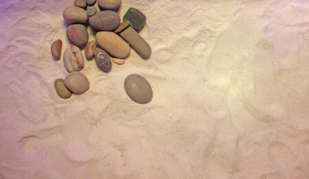 scabrous: photo with texture background colored sand and stones