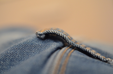 blue texture maden from a piece of jeans blurred toned