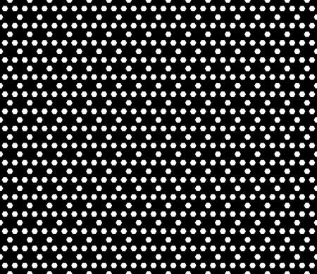 cellule: Vector monochrome seamless pattern. Simple dark modern geometric texture with small hexagons. Hexagonal grid, lattice. Repeat black & white abstract background. Design for prints, decoration, textile