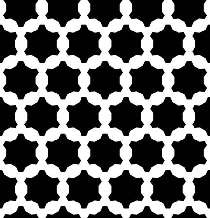 tire cover: A Vector monochrome seamless pattern, repeat geometric background, black & white figures, stylized gear.