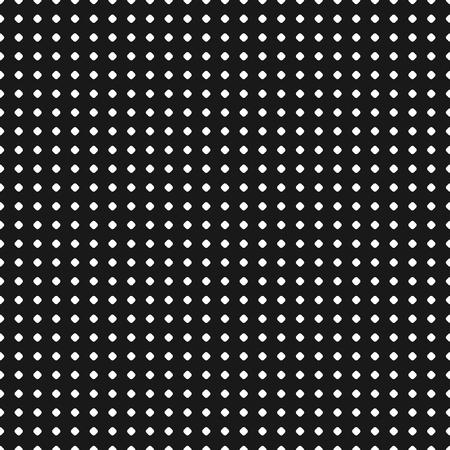 Polka dot pattern. Vector seamless texture. Abstract black