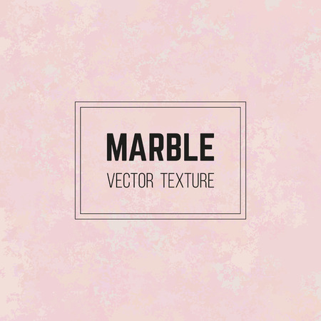 Pink marble vector texture, granite stone pattern, rose quartz. Abstract marbled background in pastel color palette. Elegant design for decor, invitation or greeting card, banner, paper, poster