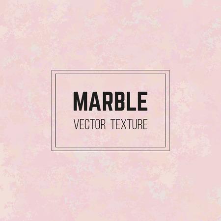 Roze marmeren vectortextuur, het patroon van de granietsteen, nam kwarts toe. Abstracte gemarmerde achtergrond in pastel kleurenpalet. Elegant ontwerp voor decor, uitnodiging of wenskaart, banner, papier, poster Stock Illustratie