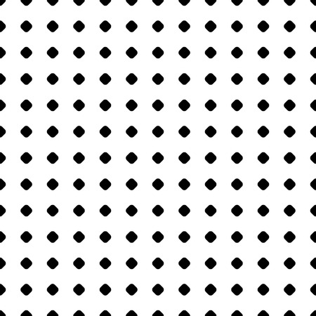 Polka Dot Pattern. Vector seamless texture. Abstract black & white geometric backdrop with small circles and spots, regular grid. Simple monochrome repeat background. Decorative design element. Seamless Pattern with Dots. Polka dot background. Dot Pattern