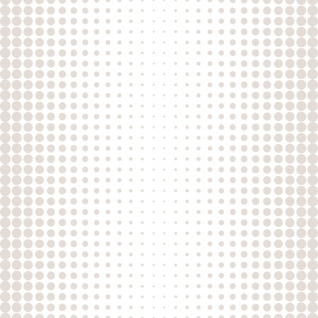 Halftone circles seamless pattern in pastel color texture.