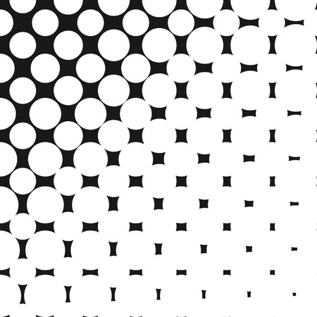 vector halftone pattern monochrome texture with small rounded rh 123rf com halftone vector pattern halftone vector download