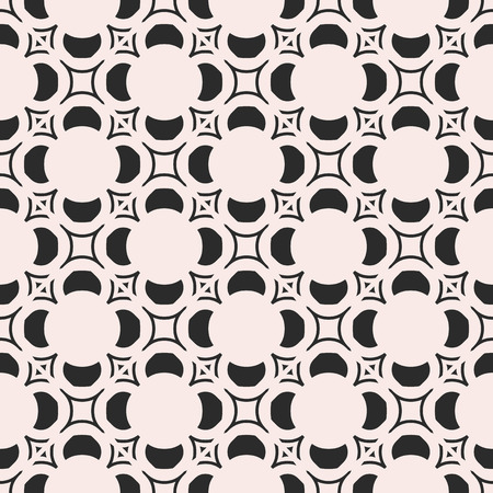 Vector Monochrome Seamless Texture Moroccan Style Pattern With Best Moroccan Design Pattern