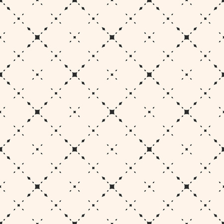 Universal minimalist vector seamless pattern. Subtle geometric texture with small diamond shapes, rhombuses, delicate diagonal grid. Modern abstract background, repeat tiles. Simple elegant design