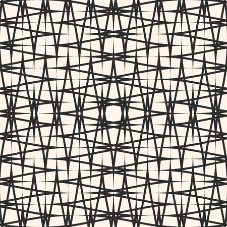 Vector Cross Hatch Pattern Abstract Seamless Texture With Thin Impressive Cross Hatch Pattern