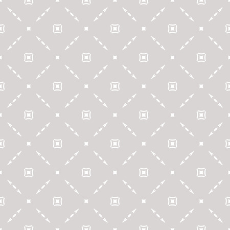 Subtle vector geometric seamless pattern with delicate square grid