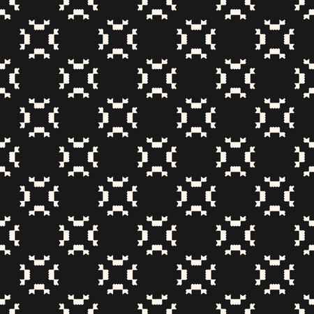 Vector geometric seamless pattern. Ornamental tribal texture with small jagged shapes