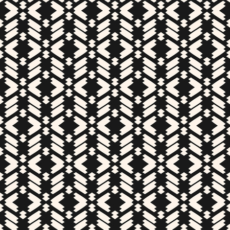 Ornament with zigzag lines
