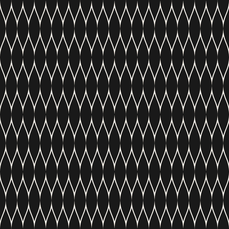 Mesh pattern. Vector seamless texture with thin wavy lines, fabric, fishnet, web, net, lace, grid. Subtle monochrome background, simple repeat texture. Dark design for textile, decor, covers, digital Illusztráció