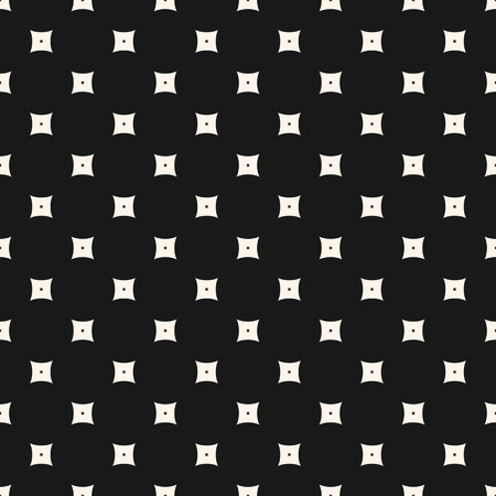 Geometric seamless pattern, simple vector texture with small smooth perforated squares. Subtle abstract monochrome background, repeat tiles. Dark stylish design for prints, home decor, covers, fabric