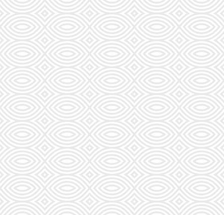 Reticolo senza giunte monocromatico di vettore, struttura di ripetizione infinita geometrica in bianco e nero. Fondo astratto semplice del mosaico. Elemento di design per stampe, decorazioni, tessuti, tessuti, digitali, web, pacchetti Vettoriali