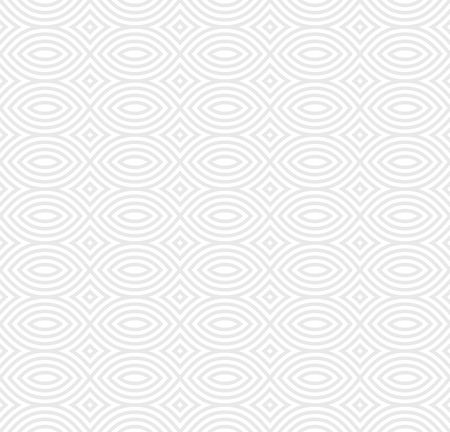 Vector monochrome seamless pattern, black & white geometric endless repeat texture. Simple abstract mosaic background. Design element for prints, decoration, textile, fabric, digital, web, package