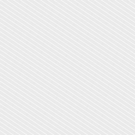 Motif à rayures transparentes de vecteur dans les couleurs gris et blancs. De fines lignes parallèles diagonales répètent la texture. Fond géométrique rayé subtil. Conception moderne abstraite pour le textile, le tissu, les impressions, le papier peint Vecteurs