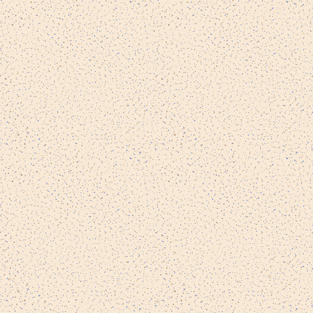 Vector seamless texture of sand. Grainy background with small particles, beige, brown and gray dots. Imitation on natural sandstone surface. Repeatable design element for decoration, render, backdrop
