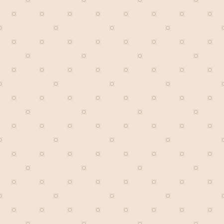 Vector minimalist background. Subtle geometric seamless pattern with tiny floral shapes, small crosses. Simple abstract minimal light beige texture. Modern delicate geo design for decor, print, web
