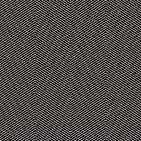 Zigzag seamless pattern. Vector texture with thin zig zag lines, stripes . Black and white abstract geometric background. Simple minimal monochrome ornament. Repeat design for decor, fabric