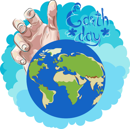earth day. vector illustration