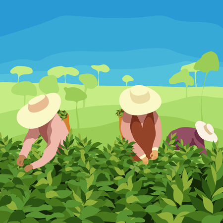 Farmers illustration.