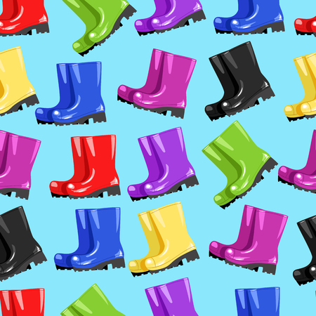 snickers: Colored boots.