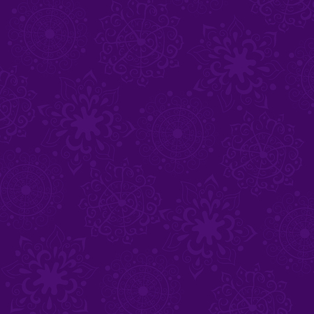 Purple background with ornament