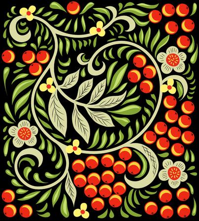 Russisch patroon. vector versiering