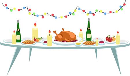 お祝いのテーブル 写真素材 - 89539734