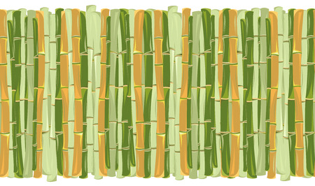 trunks of bamboo. seamless pattern