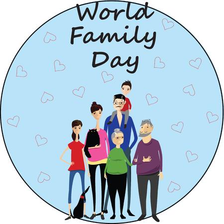 World Family Day design.