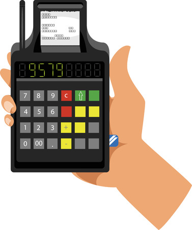 Terminal de paiement en ligne en espèces