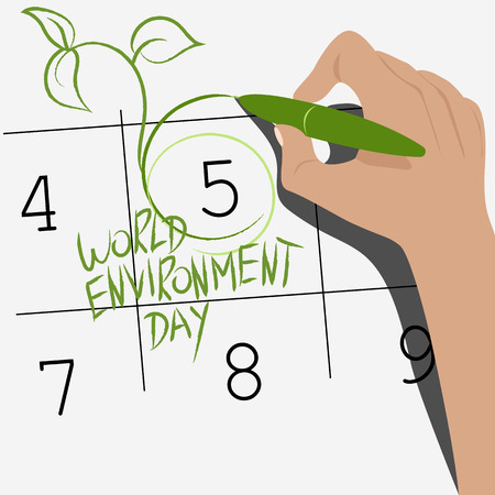 world environment day in the calendar